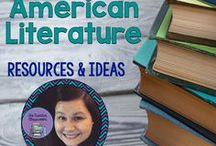 Teaching American Literature Ideas & Resources / Ideas and resources that focus on American Literature for Middle and High School teachers.