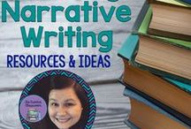 Teaching Narrative Writing Ideas and Resources / Ideas and resources to help teach Narrative Writing in Middle and High School classrooms