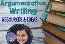 Teaching Argumentative Writing Resources and Ideas / Tips, ideas, and resources to implement to teach Argumentative Writing to Middle/High School students