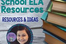Middle School ELA Resources / Everything you need for Middle School ELA!