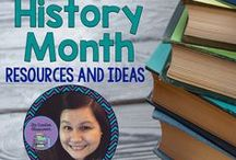Black History Month Resources and Ideas / A collection of ideas, resources, and photos to help celebrate Black History Month with Middle/High School students