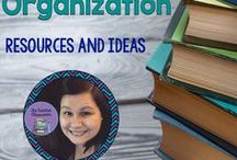 Teacher Organization / Tips, ideas, and resources to help organize your classroom!