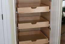 Kitchen Organization/Cabinet Pullouts