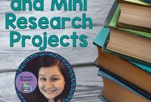 Banners and Mini Research Projects