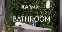 Lighting ideas for Bathroom / Are you looking for a perfect lamp for your bathroom? Here a selection of Karman lighting. Suspension lamps, floor lamps and others... Take a look! #lightingideas #lighting #lightingdesign