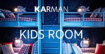 Lighting ideas for Kids Room / Are you looking for a funny and decorative lamp for your kids bedroom? Karman Zoo and Eden Collection are the perfect choices for this room.