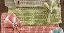 Kitchen Tabletop / Placemats, napkins, runners, and all the accessories to make your kitchen the heart of the home.