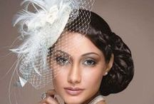 Fascinators with Crin and Veiling