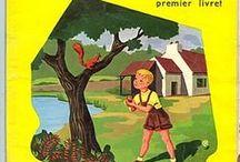 Livres d'école anciens