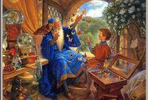Fantasy, Magie, Légendes, Etrange