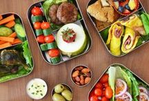 Recipes - Lunch Box Ideas / Whether you use a cute bento box or a recycled take-away container, taking your lunch to work or school or wherever you'll be all day, makes excellent financial sense. No costly take outs and you know what you and your family are eating.