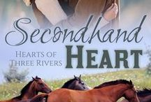 Three Rivers: Secondhand Heart / Coming 2015!  Out of options, Lily's last hope for her horse is the brooding Finn. And though he's done his best to close himself off, Lily's determined spirit means she might be the last hope for Finn's heart.  http://www.amitylassiter.com/coming-soon/