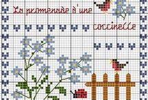 Grilles point de croix/Cross stitch charts
