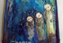 Tekstil art / by Britt Stagis