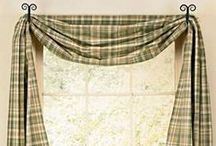 Window Treatments and Curtains / valances, tiers, lined panels, swags, prairie curtains, lined tiers, lined layered valances, single panels, romantic swags, lined gathered swags... call us at our toll free # and we are happy to help!