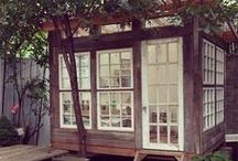 Sheds, Outdoor Offices and Studios / Whether you work from home and need a distraction free zone or you just need a little garden hideaway... A shed could make your dream a reality.