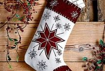 Christmas Stockings / Better order quick, otherwise Santa is not going to be able to deliver your presents. These sell out fast!