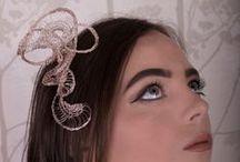 Headpieces / Tiaras, fascinators and headpieces by BDi Design