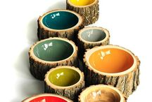Trædrejning og træ pynt - Wood / Alt hvad der kan drejes i træ