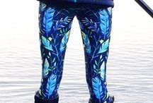 Wild & Roaming Leggings / Our line of leggings inspired by nature for people who roam wild.