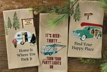 Dish Towels with a Message /    Just visit our CountryPorchHomeDecor.com or CountryPorch.com web sites to see our large section, or call our toll free #866-664-9182  and we are happy to help.