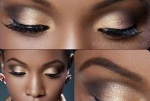 Dark skin make up