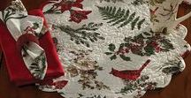 """Red Cardinals at Christmas / Red Cardinals are a New England favorite... they can be used all year round. Check out our large assortment @ CountryPorch.com and CountryPorchHomeDecor.com. All bird lovers will enjoy our """"For the Birds"""" board on Pinterest."""