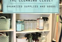 Home : Cleaning closet