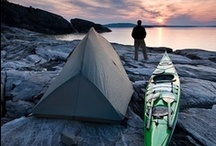 backpacking, kayaking and adventurous camping / far from car camping.