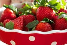 Strawberries / All things strawberry / by Ally