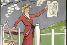 1st Wave Feminism (Suffragettes etc), 1850's - 1950's / Feminism - Herstory / by Ally Johnston