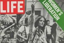 HERSTORY {3}: Women's Liberation, Women's Rights, daily lives etc, 1950's + / Feminism - Herstory / by Ally