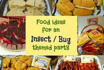 Insect party / Boys 6th birthday party. Insect theme.