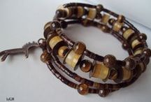 bracelets / handmade jewellery by KJM ....the natural choice