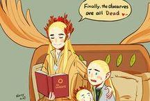 Legolas & Thranduil