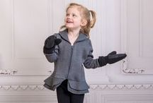 Girls Solstice Peplum Jacket / The chic, graceful detailing of the girls Solstice peplum jacket will ensure your little fashionista doesn't have to forfeit style for warmth. Available in sizes 2T-5T.