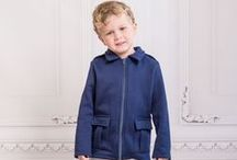 Boys Gelid Military Jacket / The modern military Gelid zip is the ultimate in style refinement, and the perfect pairing for your snappy dresser. Available in sizes 2T-5T.