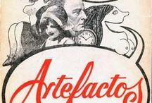 Artefactos 1972 / conjunto de 242 postales editadas en el 1972