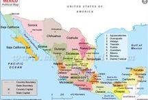 MEXICO: Isla Mujeres;Cancun;Chitchenitza;Mazatlan,Nogales