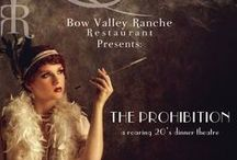 Dinner Theatre 2016 / The Prohibition - A Roaring 20's Dinner Theatre.  Do you enjoy fine food, entertainment, classy drinks and (maybe) costumes? This is the event for you!   Join us March 3rd for our 1st ever Dinner Theatre!
