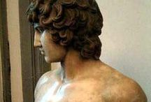 Hadrian and Antinous / Emperor Hadrian and his beloved Antinous, the most beautiful boy in the world / by Rose Scott