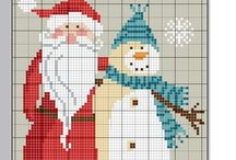 Little CrossStitch Xmas cards