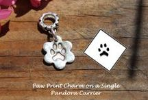 Paw Print Jewellery / Pure Silver Jewellery with your actual pets paw print perfectly miniaturised and pressed into pure silver in the design of your choice.   https://www.facebook.com/Impressionstokeep  www.impressionstokeep@btinternet.com