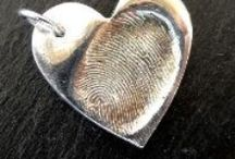 Finger Print Jewellery / Your loved ones actual fingerprints captured and then pressed into pure silver jewellery.  https://www.facebook.com/Impressionstokeep  https://www.facebook.com/Impressionstokeep