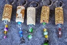 Keyrings - Sleutelhangers / Handmade Keyrings - Handgemaakte Sleutelhangers  www.etsy.com/shop/RedIbisGifts