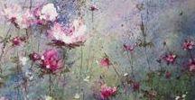 Florale Malerei ★ floral painting / Darstellung von Blumen in der Kunst.
