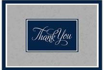 Thank You cards / Handmade thank you cards / by Lisa Mendoza