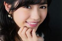 Mayu Watanabe / Born March 26, 1994 in Saitama Prefecture she is a singer, is a member of the Japanese idol girl group AKB48 , under Team B.