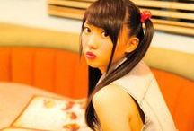Yuria Kizaki / Born February 11, 1996 in Aichi Prefecture is a member of the Japanese idol girl group AKB48,