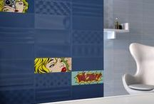 POP ART FEATURE TILES